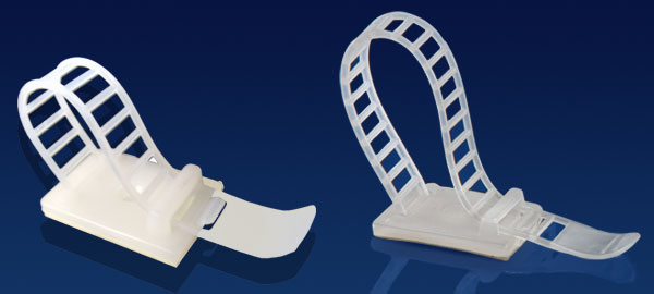 Novoflex Adhesive Backed Clamps And Clips